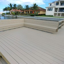 Wrap Around Bench with Wear Decking.