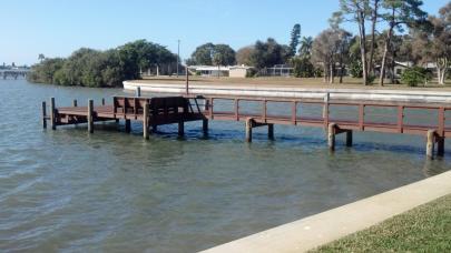 Trex Transcends Dock