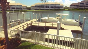 New Wear Deck dock and floating dock
