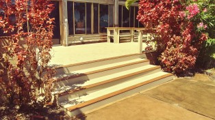 Wear Deck with Rail and Bench